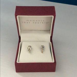 Helzberg 1/10 ct. Diamond Earrings